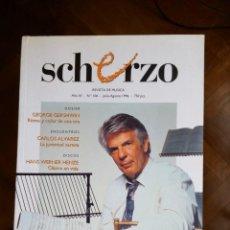 Revistas de música: REVISTA SCHERZO Nº 106. Lote 75438519