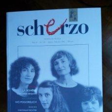 Revistas de música: REVISTA SCHERZO Nº 101. Lote 75451255