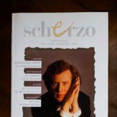 Revistas de música: REVISTA SCHERZO Nº 90. Lote 75451375