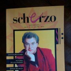 Revistas de música: REVISTA SCHERZO Nº 105. Lote 75451503