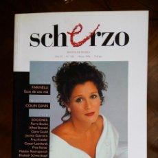 Revistas de música: REVISTA SCHERZO Nº 102. Lote 75451535