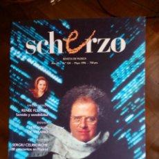 Revistas de música: REVISTA SCHERZO Nº 104. Lote 75451671