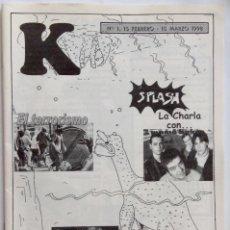 Revistas de música: MAMA BAKER REVISTA K GRANADA 1998 MAMA BAKER. Lote 120733684