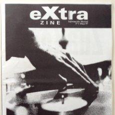 Revistas de música: EXTRA ZINE FANZINE SINDICATO DEL CRIMEN E-330 LIKE PETER AT HOME ACID EATERS STORMCORE. Lote 76294783