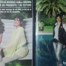 Revistas de música: AZÚCAR MORENO- ENCARNA SALAZAR REPORTAJE REVISTA ¡HOLA! OCTUBRE 2008. Lote 77269541