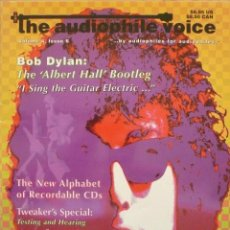 Revistas de música: REVISTA INGLESA THE AUDIOPHILE VOICE / PORTADA BOB DYLAN / MUY RARA. Lote 77341897
