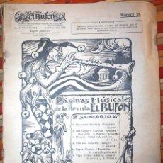 Revistas de música: REVISTA MUSICAL EL BUFÓN NÚM. 26 CONTIENE PARTITURAS. Lote 77396673