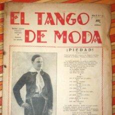 Revistas de música: FIRMADA Y DEDICADA POR CARLOS PERCUOCO PARA ROSENDO LLURBA, MÚSICOS DE TANGO. EL TANGO DE MODA 1929. Lote 77399557