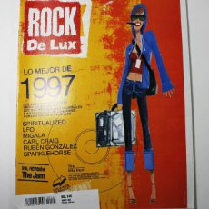 Revistas de música: REVISTA ROCK DE LUX LO MEJOR DE 1997 Nº 148 1998. Lote 211256540