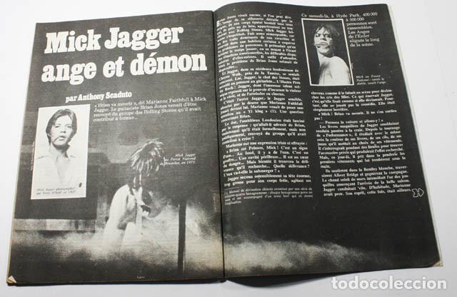 Revistas de música: REVISTA FRANCESA L'EXPRESS Nº 1255 1975 11 PAGINAS DE MICK JAGGER Y ROLLING STONES - Foto 3 - 77531069