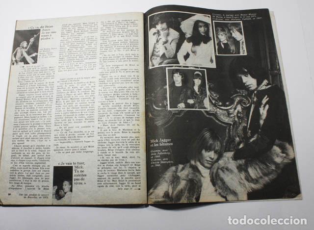 Revistas de música: REVISTA FRANCESA L'EXPRESS Nº 1255 1975 11 PAGINAS DE MICK JAGGER Y ROLLING STONES - Foto 4 - 77531069