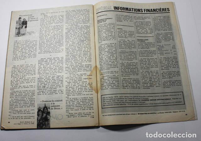 Revistas de música: REVISTA FRANCESA L'EXPRESS Nº 1255 1975 11 PAGINAS DE MICK JAGGER Y ROLLING STONES - Foto 5 - 77531069