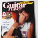Revistas de música: REVISTA USA DE ROCK GUITAR PLAYER Nº 12/1989, REPORTAJE 18 PAGINAS DE KEITH RICHARDS, ROLLING STONES. Lote 77532385