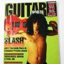 Revistas de música: GUITAR WORLD Nº 2/1992, REPORTAJE 13 PAGINAS SLASH GUNS N'ROSES. Lote 77534057