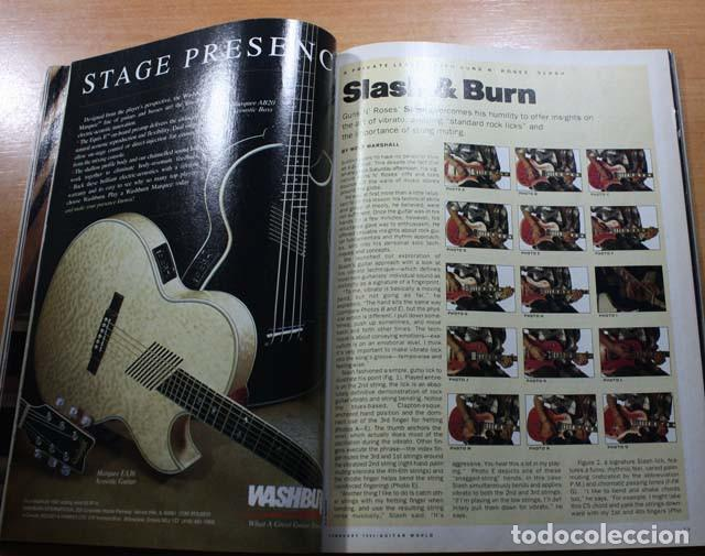 Revistas de música: GUITAR WORLD Nº 2/1992, REPORTAJE 13 PAGINAS SLASH GUNS N'ROSES - Foto 3 - 77534057