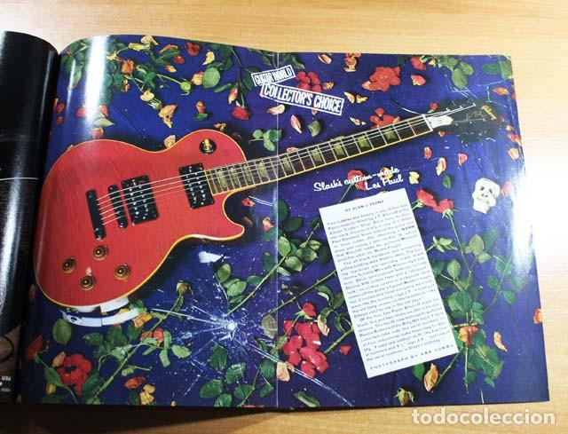 Revistas de música: GUITAR WORLD Nº 2/1992, REPORTAJE 13 PAGINAS SLASH GUNS N'ROSES - Foto 5 - 77534057