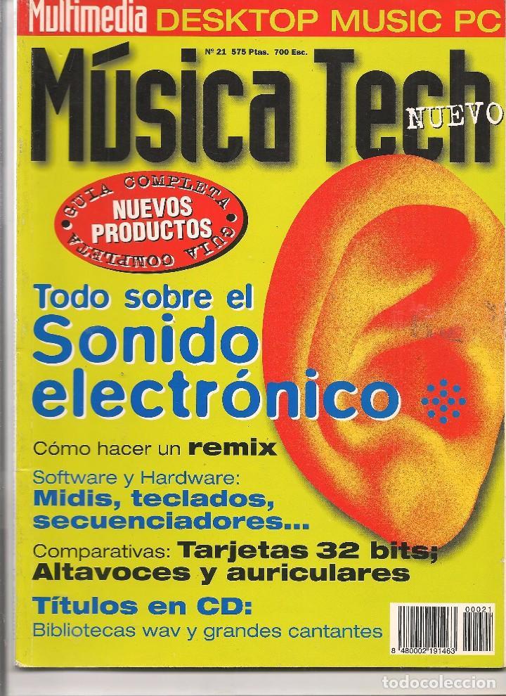 MÚSICA TECH. Nº 21. (P/B75), usado segunda mano