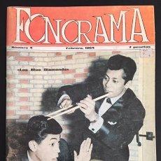 Revistas de música: REVISTA FONORAMA Nº 4. Lote 79516169