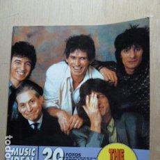Revistas de música: THE ROLLING STONES -29 FOTOS EXTRAIBLES MUSIC IDEAL. Lote 79808581