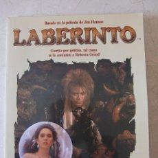 LABERINTO BASADO EN LA PELICULA DE JIM HENSON - DISTEIN LIBROS 1986 - DAVID BOWIE, JENNIFER CONNELLY
