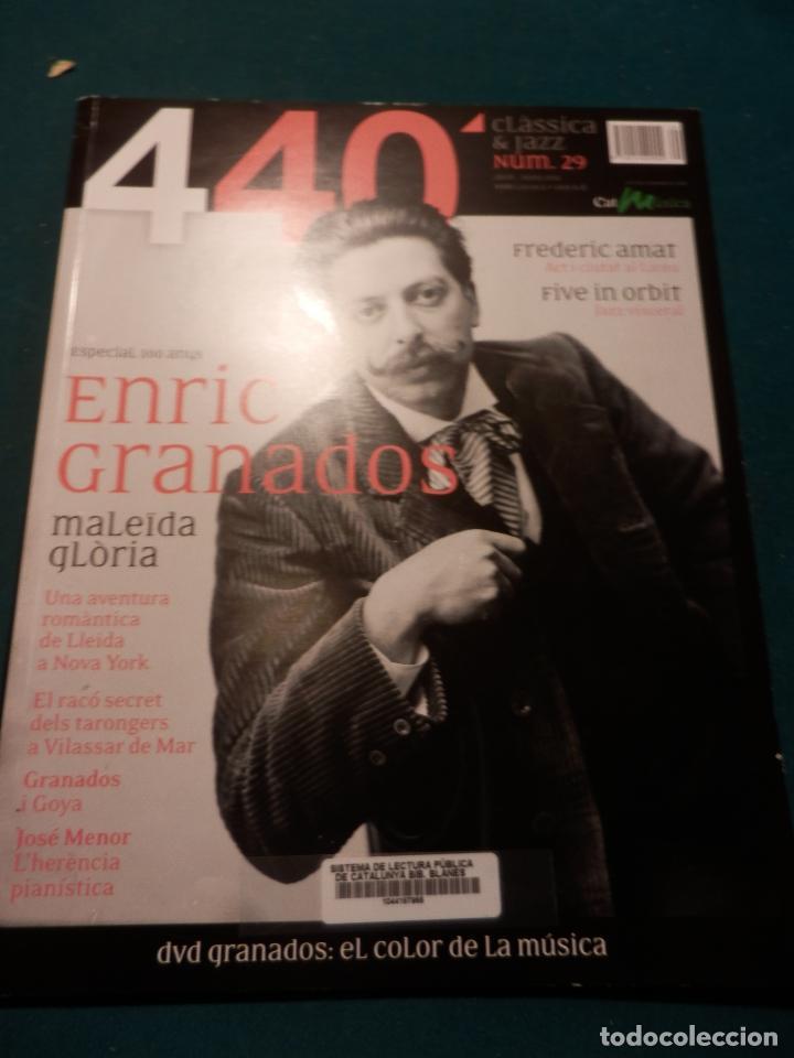 Revistas de música: 440 CLÀSSICA & JAZZ - LOTE 34 REVISTAS EN CATALÀ Nº 2-3-4-5-6-7-8-9-10-11-12-13-14-15-16-17-18-19... - Foto 26 - 65452894
