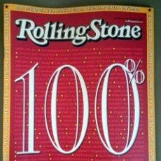 Revistas de música: ROLLING STONE 100%, SUPLEMENTO ESPECIAL REVISTA ROLLING STONE DICIEMBRE 2002. 48 PÁGINAS. Lote 80580398
