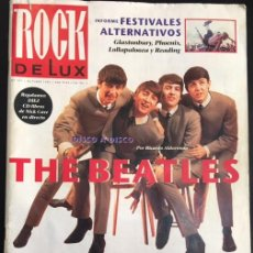 Revistas de música: REVISTA ROCK DE LUX Nº 101 THE BEATLES. Lote 80840123