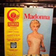 Revistas de música: SPIRAL SCRATCH MADONNA - PORTADA Y CONTRAPORTADA THE RECORD COLLECTORS MONTHLY 1989 PDELUXE. Lote 80876099