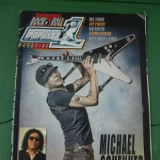 Revistas de música: REVISTA ROCK & ROLL POPULAR 1 MAGAZINE - MICHAEL SCHENKER. Lote 80887019