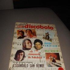 Revistas de música: REVISTA DISCOBOLO Nº 292 1971 KARINA INGRID GARBO TOM JONES JOSE JUAN 15 PTS.. Lote 89455250