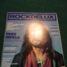 Revistas de música: ROCKDELUX Nº 352 (TAME IMPALA-LOQUILLO-BOB MOULD-FRANK MILLER-THE CARS-FERMIN MUGURUZA-CHEIKH LÔ...). Lote 82269802