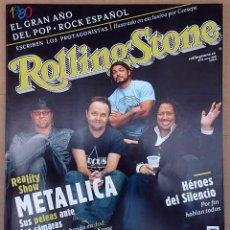 Revistas de música: ROLLING STONE Nº 68, MARZO 2005. METALLICA, HÉROES DEL SILENCIO, 1980, MOBY, KEANE, AMARAL, ALASKA. Lote 81745624