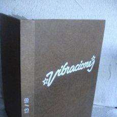 Magazines de musique: VIBRACIONES. LA EVOLUCIÓN MUSICAL DE LOS AÑOS 70. (NÚMEROS DE 13 A 18). Lote 82043000