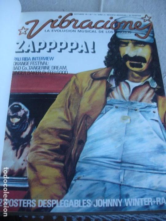 Revistas de música: Vibraciones. La evolución musical de los años 70. (Números de 13 a 18) - Foto 2 - 82043000