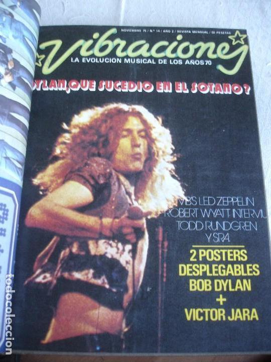 Revistas de música: Vibraciones. La evolución musical de los años 70. (Números de 13 a 18) - Foto 6 - 82043000