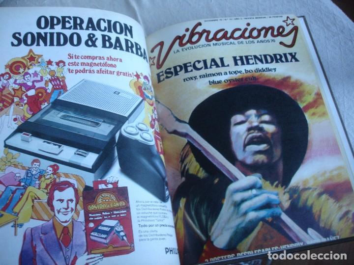 Revistas de música: Vibraciones. La evolución musical de los años 70. (Números de 13 a 18) - Foto 8 - 82043000