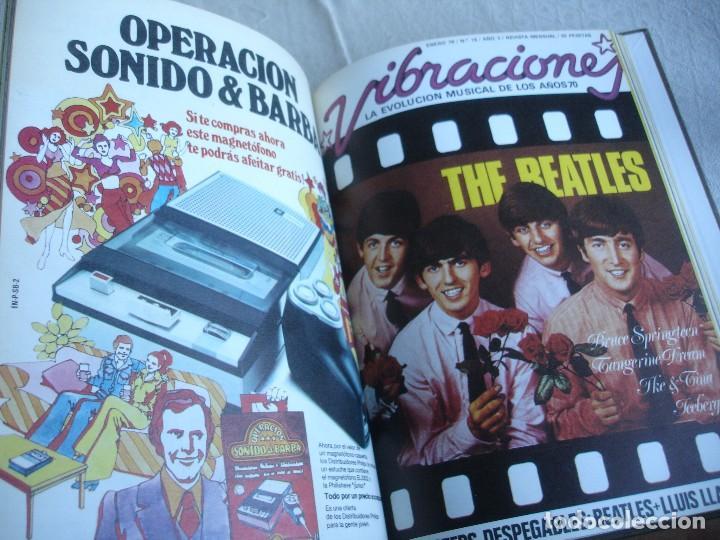 Revistas de música: Vibraciones. La evolución musical de los años 70. (Números de 13 a 18) - Foto 9 - 82043000