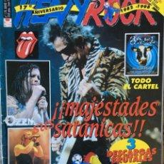 Riviste di musica: HEAVY ROCK 178 . JUNIO 98 . ROLLING STONES . FESTIMAD . VIÑAROCK . BLIND GUARDIAN . HAMLET. Lote 82064276