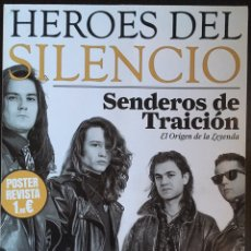 Revistas de música: PÓSTER REVISTA HÉROES DEL SILENCIO. Lote 82210819