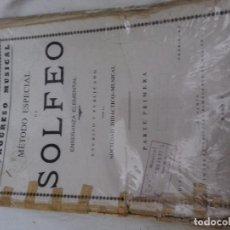 Revistas de música: EL PROGRESO MUSICAL-METODO ESPECIAL DE SOLFEO-ENSEÑANZA ELEMENTAL-SOCIEDAD DIDACTICO MUSICAL. Lote 82994896
