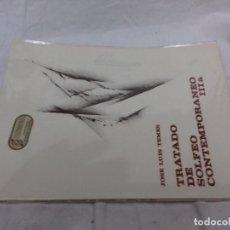 Revistas de música: TRATADO DE SOLFEO CONTEMPORANEO-JOSE LUIS TEMES-IIIA. Lote 82995372
