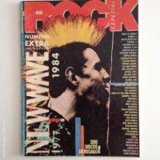 Revistas de música: ROCK ESPEZIAL EXTRA NEW WAVE 1984 CON 64 PAGINAS.. Lote 83135808