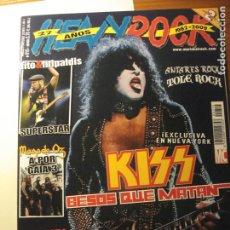 Revistas de música: HEAVY ROCK 315, 2009 KISS, FITO, MAGO DE OZ, BARRICADA. CON PÓSTER.. Lote 83232540