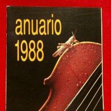 Revistas de música: ANUARIO DISCOPLAY AÑO 1988 - EDICION ESPECIAL BID REVISTA BOLETIN INFORMATIVO MUSICAL ACTUALIDAD -. Lote 83825600