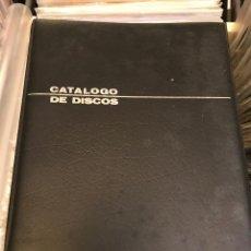 Revistas de música: CATALOGO DE DISCOS ORZAN VINTAGE RETRO COLECCIONISMO DE VINILOS LPS EP SINGLES . Lote 84237088