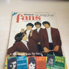 Revistas de música: BEATLES - KINKS REVISTA FANS NUM. 17. Lote 84533042