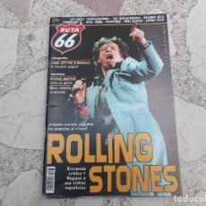 Revistas de música: RUTA 66 Nº 227, ROLLING STONES ,RONNIE SPECTOR,NEW CHRISTS,LOU REED, ANGRYMAN, JAVIER COLIS,DOMINIQU. Lote 104096750