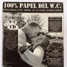Revistas de música: 100% PAPEL DEL W.C. NUMERO 2 PUNK SKA HARDCORE. Lote 84829108