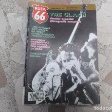 Revistas de música: RUTA 66 Nº 49: THE CLASH. OTIS REDDING. BARRACUDAS. LOS POTROS. THE PURITANS. LA ROSA.. HARLEY DAVID. Lote 104096759