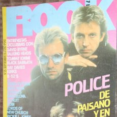 Magazines de musique: ROCK ESPEZIAL Nº 25. POLICE, TALKING HEADS, BLACK SABBATH, KINKS, ILEGALES, RUBI, DANZA INVISIBLE. Lote 85900828